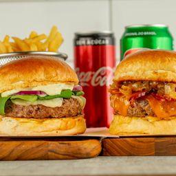 Combo Burger Casal