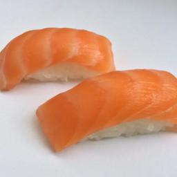 Niguiri salmão - 8 und