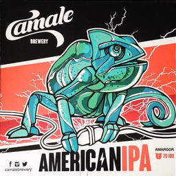 Growler Pet 1L - Camale American IPA