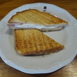 Tostex de Queijo Branco e Peito de Peru