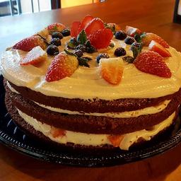 Coffee Town Cake - Fatia