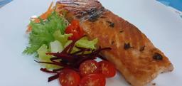 Grelhado de salmão