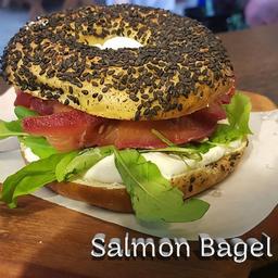 Salmon Bagel