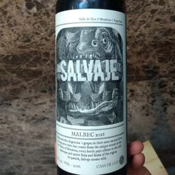 2016, el savaje malbec -argentina- 750ml