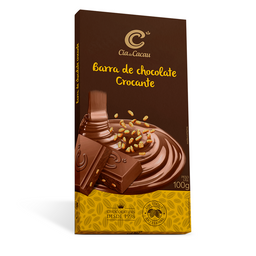 Cia Barra Chocolate Com Crocante - 100g