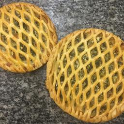 Torta de escarola congelada