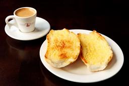 Pão com Manteiga na Chapa