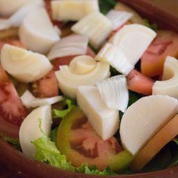 Salada com Filé