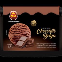 Sorvete chocolate belga 1,5l