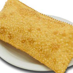 Pastel de Creme de Palmito com Mussarela e Milho