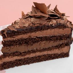 Mousse c/ brigadeiro-fatia |torta dalena