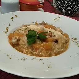 Risoto de Frango ao Curry