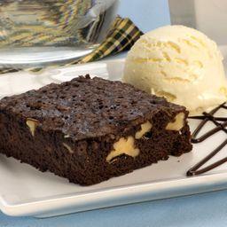 Brownie com Sorvete