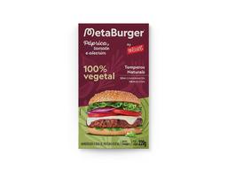 Burger Vegetal - Páprica; Tomate e Alecrim Wessel 220g (2 Und)