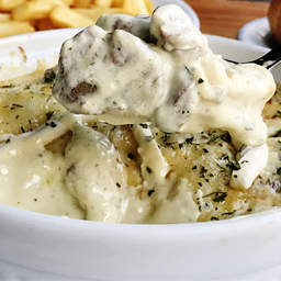Escondidinho de Filé Mignon com Cream Cheese 2 Pessoas (9270)