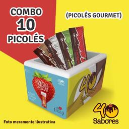 Picolés Gourmet - 10 Picolés Gourmet