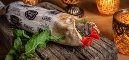 Kebab/Shawarma De Carne No Pão Árabe