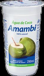 Água de coco Amambi 290ml (100% natural)