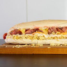 Hot Dog com Calabresa