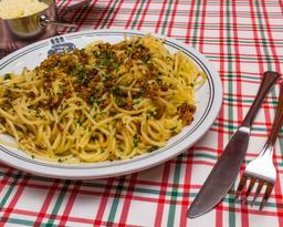 Spaghetti ao Alho e Óleo
