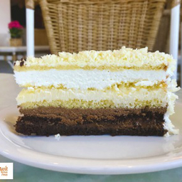 Torta Dominó - Fatia