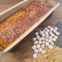 Pão Nutritivo sem Glúten e sem Lactose
