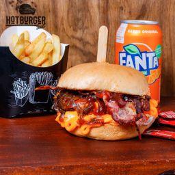 Combo Individual Burger Cheddar