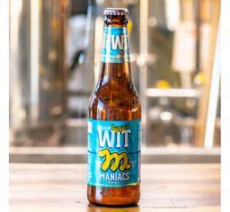 Maniacs Belgian Cerveja Witb Long Neck