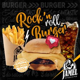 Combo Rock'N Roll Burger e Bebida