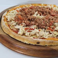 Pizza de Frango à Bolonhesa