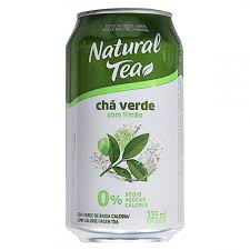 Natural Tea - Chá Verde Com Limão - 335ml