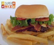 Combo X Bacon, Fritas e Refrigerante