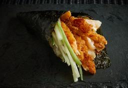 Temaki camarão empanado