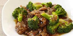 Carne de Brócolis com Arroz