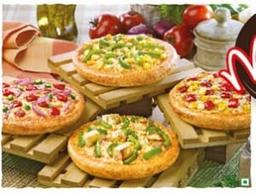 4 Pizza Gigante 1 Calabresa ,1 Presunto, 1 Bacon e Milho , 1 Ma