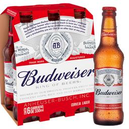 Budweiser - 6 Unidades de 330ml
