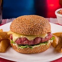 Combo New York Sausage Burguer
