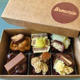 Caixinha com 6 Brownie Excellence