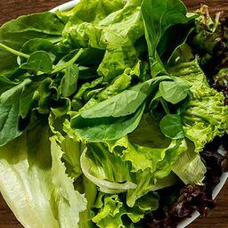 Saladinha de folhas verdes