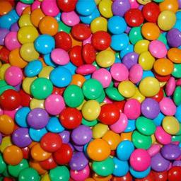 Confete de Chocolate ao Leite Colorido 50g