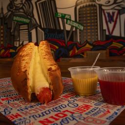 Hot dog gratinado