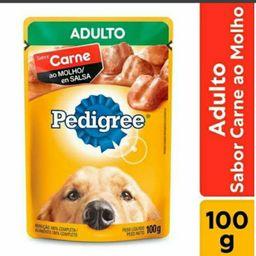 Pedigree Adulto Cachorro Sabor Carne 100g