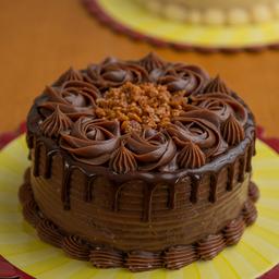 Torta Crocante com Chocolate - 1,2Kg
