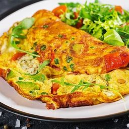 Omelete Salada Completa