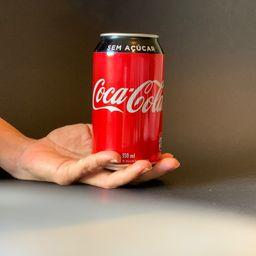 Coca cola zero - lata 350 ml