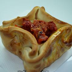 Empanada Presunto e Tomate Seco
