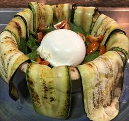 Cestino Di Burrata Vegetariano