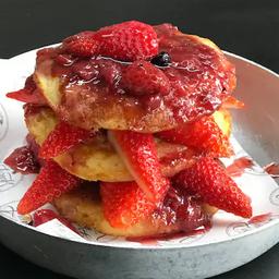 Panqueca Americana de Frutas Vermelhas