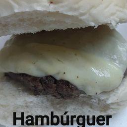Hambúrguer Artesanal com Batata Média + Coca-Cola