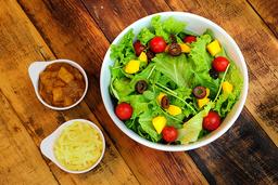 05 - Salada de Folhas Verdes